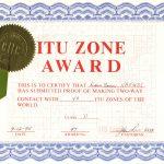 ITU Zone Award
