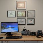 KA5WSS Operating Desk