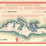 Certificato Del Mediterraneo