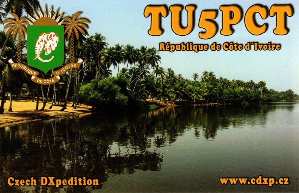 TU5PCT QSL Card
