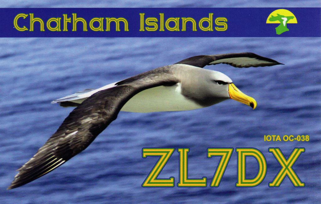 ZL7DX QSL Card