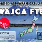 Worked All Japan Call Area