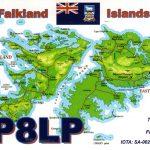 VP8LP QSL Card