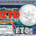 New Zealand Territories & Dependencies Award